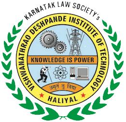 KLS Vishwanathrao Deshpande Institute of Technology Haliyal logo