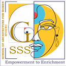GSSS School of Architecture for Women logo