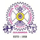 H.K.E.Society's P.D.A. College of Engineering logo